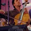 "Cellist Rufus Cappadocia ""takes the cello into unexplored realms,"" according to the playbill for the February 5 Flagpole Radio Café.  (Bobowick photo)"