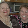 "Jeanette Jurman, left, and her Senior Helpers caregiver and Employee of the Year Lisa Rojas are practically inseparable. According to the local agency's owner, Costas ""Gus"" Thanasoulis, the two represent the longest matched client and caregiver team the national home companion service has in the western Connecticut region.  (Voket photo)"