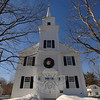 "Newtown Woman's Club, GFWC, Inc is continuing its ""This Place Matters"" series, which will recognize and celebrate various historic buildings throughout Newtown, with a look at Newtown Meeting House. For the next few months, the club will continue to select a building the membership feels is an important part of this town. The club's February choice is Newtown Meeting House. Originally constructed as Newtown Congregational Church in 1808, the building replaced an earlier one that had been located in the middle of Main Street, and moved to its current site (in the middle of West Street) in 1792 to make room for Trinity Episcopal Church at 36 Main Street. The building was extensively rebuilt in 1845 and 1852. It was used for Congregational worship services and various town meetings until the mid-1980s, when NCC built its new church building on West Street and sold its former building to the Town of Newtown. The meeting house is now maintained by the nonprofit Heritage Preservation Trust of Newtown, Inc and used for nondenominational weddings, incidental worship services, funeral and memorial services, concerts, and other public programs. Newtown Meeting House is on the National Register of Historic Places.  (Bobowick photo)"