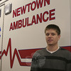 Six weeks after becoming a full member of Newtown Volunteer Ambulance Corps, Wesley Yllanes was first on the scene last fall of what initially appeared to be a minor motor vehicle accident. Wesley's efforts and actions from that afternoon have caught the attention of The American Red Cross, who will honor him with a Heroes Award on March 10. Wesley will be one of two residents and one youth group from Newtown to be recognized during the ceremony.  (Hicks photo)