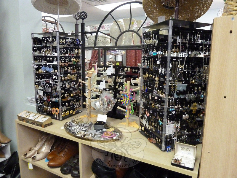 Some of the accessories available at Great Finds and Designs Consignment on South Main Street.  (Ashbolt photo)