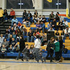 A large crowd, with basketball fans of many ages, showed up for the annual NUSAR comedy basketball fundraiser at Newtown High School on March 5.  (Hallabeck photo)