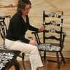 "Donna Ball has organized a committee of parents to create ""Laughing Chairs & Tables"" for the Spring Into Auction event on March 26. The event will be a fundraiser for Head O'Meadow School's PTA.  (Hicks photo)"