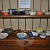"Spring weather brought out the crowds to the ""Spring Fest"" hosted by Maplewood at New-town on Saturday, April 2, to benefit Kevin's Community Center. The Spring Fest featured more than 100 handcrafted bowls created by members of The Connecticut Clay Artists.  (Crevier photo)"