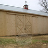 Another view of the completed Staudinger barn.  (Hicks photo)