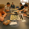 High school students participated in the NHS Chess Club's tournament on Thursday, April 14.  (Hallabeck photo)