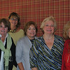 New officers for the 2010-11 Newtown Visiting Nurse Association were installed at a break-fast meeting held Tuesday, September 14, at Maplewood at Newtown. From left are Maureen McLachlan, corresponding secretary; Mary Tietjen, second vice president; Carol Garbarino, recording secretary; Anna Wiedemann, president; and Mae Schmidle, treasurer. Unavailable for the photo were Debby Osborne, first vice president, and Rebeka Dahlgard, assistant treasurer.  (Crevier photo)