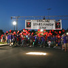 Newtown hosted its first full Light The Night event, a fundraiser for The Leukemia & Lymphoma Society, on Saturday, September 25. The event took place on the grounds in front of Newtown Youth Academy and included live music, refreshments, LLS and related information, and a two-lap walk with participants carrying balloons to identify themselves as cancer survivors, supporters of LLS and its programs, and in honor of those who have died from the two blood related diseases.  (Hicks photo)