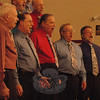 The Danbury Mad Hatter Chorus performed a concert at Newtown Congregational Church on Friday, May 20. The men's a capella singing group performed a number of songs during the event.  ( Hallabeck photo)