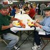 "Alan Will and his father, John Will II, enjoyed lobster dinners on Saturday.   (Hicks photo) NOTE: additional photos from LobterFest can be found in their own photo gallery, found here: <a href=""http://photos.newtownbee.com/Events/24th-Annual-Sandy-Hook-Lobster/17597124_2qVGdM#1340648801_zvgNTZN"">http://photos.newtownbee.com/Events/24th-Annual-Sandy-Hook-Lobster/17597124_2qVGdM#1340648801_zvgNTZN</a>"