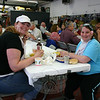 "A few thousand people attended the 24th Annual Sandy Hook LobsterFest including these two ladies, who enjoyed dinner at the fire company's main station on Saturday night.  (Hicks photo) NOTE: additional photos from LobterFest can be found in their own photo gallery, found here: <a href=""http://photos.newtownbee.com/Events/24th-Annual-Sandy-Hook-Lobster/17597124_2qVGdM#1340648801_zvgNTZN"">http://photos.newtownbee.com/Events/24th-Annual-Sandy-Hook-Lobster/17597124_2qVGdM#1340648801_zvgNTZN</a>"