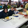 "Patrick Doherty, second from left, and his family were at Sandy Hook LobsterFest both nights. Joining Patrick and enjoying dinner on Saturday night were, from left, Courtney DeMeglio, Jack Jensen, and Zack DeMeglio.  (Hicks photo) NOTE: additional photos from LobterFest can be found in their own photo gallery, found here: <a href=""http://photos.newtownbee.com/Events/24th-Annual-Sandy-Hook-Lobster/17597124_2qVGdM#1340648801_zvgNTZN"">http://photos.newtownbee.com/Events/24th-Annual-Sandy-Hook-Lobster/17597124_2qVGdM#1340648801_zvgNTZN</a>"