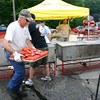 "Rich Liska heads toward the dining area with a tray of just-steamed lobsters.  (Hicks photo) NOTE: additional photos from LobterFest can be found in their own photo gallery, found here: <a href=""http://photos.newtownbee.com/Events/24th-Annual-Sandy-Hook-Lobster/17597124_2qVGdM#1340648801_zvgNTZN"">http://photos.newtownbee.com/Events/24th-Annual-Sandy-Hook-Lobster/17597124_2qVGdM#1340648801_zvgNTZN</a>"
