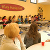 After an introduction by Hawley Principal Jo-Ann Peters-Edmondson, Hawley Elementary School parent volunteers were treated to breakfast during the Hawley Parent Volunteer Appreciation Breakfast held Friday, June 3. During the breakfast fourth grade students, along with Hawley music teacher Cynthia Holberg, standing far right, provided entertainment.  (Hallabeck photo)