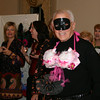 """Robert Rau wore """"The Dairy Queens"""" for the fashion show portion of The Artful Bras show at Edmond Town Hall on October 23.  (Hicks photo)"""