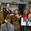 Newtown Visiting Nurse Association Board of Directors members, from left, Mary Tietjen, Debbie Osborne, Carol Garbarino, Mae Schmidle, and Anna Wiedemann are excited about the upcoming huge tag sale to benefit the VNA. The sale, Saturday, November 6, features upscale items donated by two major estates at attractive prices.  (Crevier photo)