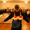 "Bill Monaco was one of the Men In Black for the inaugural Artful Bras event on Saturday, October 23. He escorted ""Boobie Hatch"" during the fashion show.  (Hicks photo)"