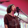 Francine Wheeler at Flagpole Radio Cafe, September 17.  (Bobowick photo)