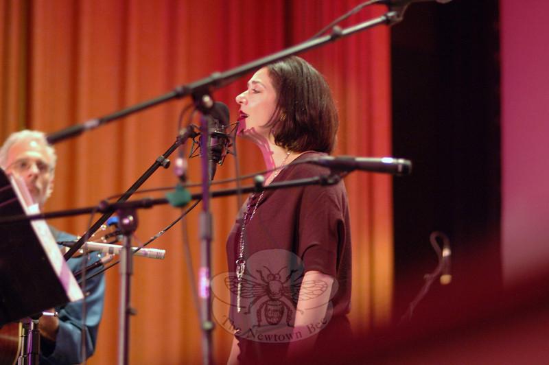 Francine Wheeler at Flagpole Radio Cafe, September 17.  (Bobowick photo)