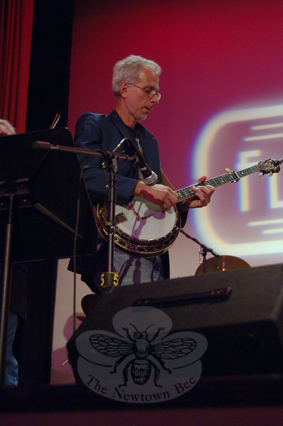 Flagpole Radio Café Orchestra member Dick Neal, September 17.  (Bobowick photo)