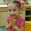 Newtown Bee: What makes you happy? Lilah Hage: My mommy, because I just like my mommy.  (Hallabeck photo)
