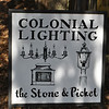 Stone & Picket Colonial Lighting is located at at 242 Bacon Pond Road in Woodbury. The specialty interior and exterior lighting is all custom made.  (Crevier photo)