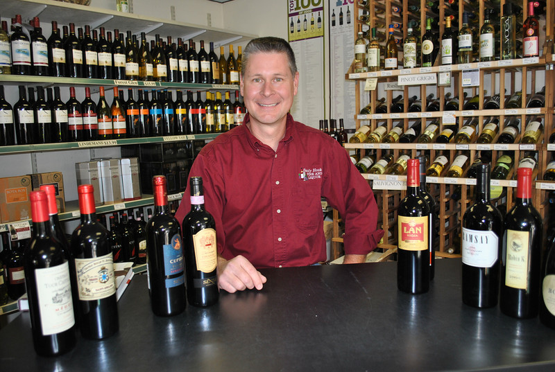 There is a great deal of useful information contained on a wine label, from grape variety to alcohol percentage to vineyard information, says Mike Kerler, owner of Sandy Hook Wine & Liquor, with European wines providing more indepth information than those from American wineries.  (Crevier photo)