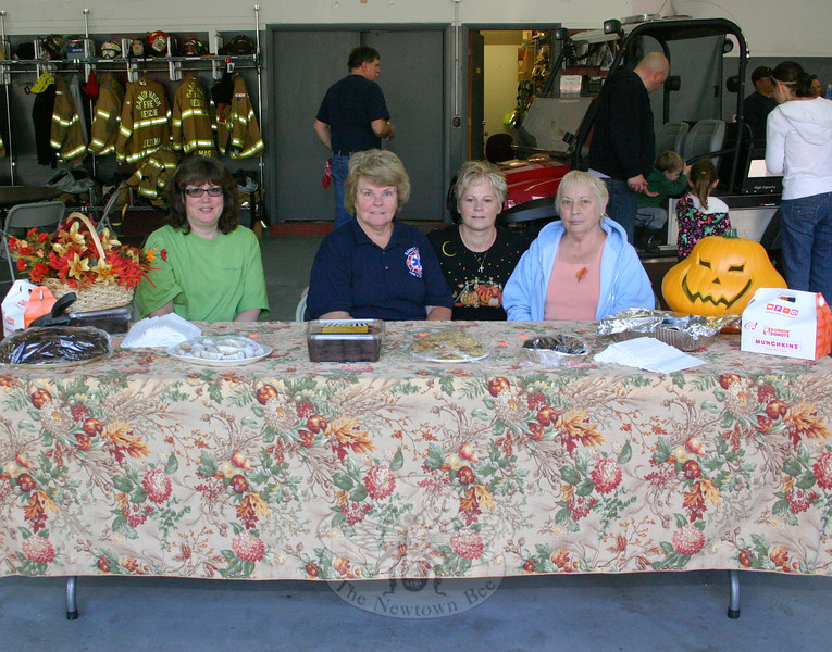 Sandy Hook Fire & Rescue ladies auxiliary members offered refreshments during the co