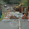 An ongoing town construction project to install new drainage structures for a stream that crosses beneath the northern end of Boggs Hill Road means that the quarter-mile-long section of Boggs Hill Road lying between its intersections with Sugar Street (Route 302) and Deep Brook Drive will be closed to through-traffic for an estimated four to six weeks.   (Gorosko photo)