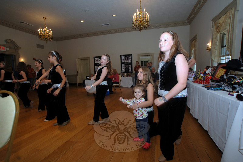 Students from Lathrop School of Dance performed during an autumn vendor marketplace in The Alexandria Room on Sunday, October 2. It was the second of two events that weekend that raised funds for Ann's Place/The Home of I Can.  (Bobowick photo)