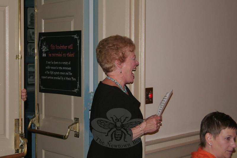 Newtown United Treasurer & Secretary Marie Sturdevant.  (Hicks photo)