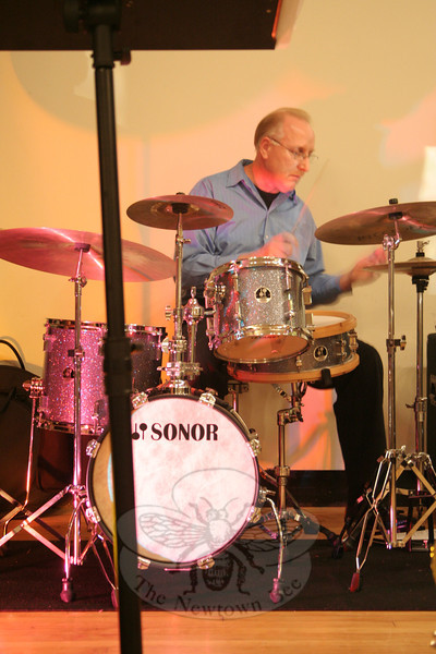 Boplicity drummer Bob Paquette.  (Hicks photo)