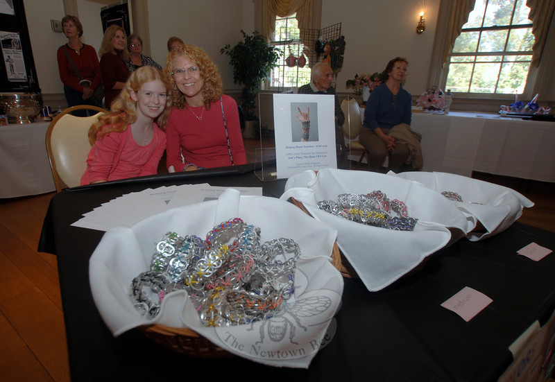 An autumn vendor marketplace in The Alexandria Room on Sunday, October 2, was the second of two events that weekend that raised funds for Ann's Place/The Home of I Can.  (Bobowick photo)