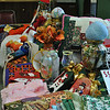 The Newtown Senior Center Autumn Bazaar, Friday, October 14, through Sunday, October 16, will feature gifts for all occasions and holidays. Stuffed animals, hand quilted pillows, decoupage vases, hand knit children's items, holiday table runners, and hand painted or-naments are just a few of the hundreds of items made by members of the senior center for the event. The bazaar is open Friday and Saturday from 9 am to 4 pm, and on Sunday, from 9 am to noon, at the 14 Riverside Road location. All items are crafted by Senior Center members, and proceeds of the sale go to support programs at the Newtown Senior Center throughout the year.  (Crevier photo)