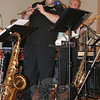 Boplicity flutist and alto saxophonist Robert Rabiniwitz.  (Hicks photo)