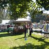The first Parade Fair, held before and after Newtown's Labor Day Parade on Sunday, October 9, on the grounds of the Newtown Middle School on Queen Street offered a variety of vendors, including crafts, activities, and food. The Parade Fair was organized by Newtown resident and artist Stacey Olzewski.  (Hallabeck photo)