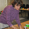 """A dozen young people joined area artist and teacher Katie Stevenson on Monday, October 17, for the Duct Tape VIII """"Unwind Your Imagination"""" program at the C.H. Booth Library.  (Crevier photo)"""