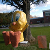 "The ""Tweety Bird"" scarecrow created by Samantha Lotko, Alexandra Lotko, Brittany Bucci, and Margaret Elkins took third place.  (Voket photo)"