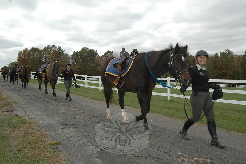 The Newtown-based Second Company Governor's Horse Guard (2GHG) hosted its Annual Open House September 25 at its Fairfield Hills headquarters. The event featured precision riding and rifle handling demonstrations, games and historical presentations for children and adults. (Voket photo)
