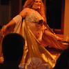 "Adina, shown here, and her belly dancing entourage Rakshanda Rya provided entertainment for Congregation Adath Israel's ""Mediterranean Magic"" event held on Saturday, November 12.  (Hallabeck photo)"