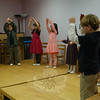 Housatonic Valley Waldorf School first grade students performed a song for visiting grandparents and special guests at the school for the Thanksgiving Assembly held on November 23.  (Hallabeck photo)