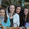 Supporters of Wildlife In Crisis, Inc, out of Redding, are Emma Wolfman, Sam Lotko, Chloe Blakeman, and Hanna Bigwarfe, all students at Newtown Middle School. The girls made treats for people and pets, and sold the goodies by the entrance to the C.H. Booth Library Sunday afternoon, December 4. The girls originally became involved with Wildlife In Crisis as part of a science project in school, and continue to raise funds to support the organization that rescues injured and orphaned animals in the wild, and raises awareness about the ecosystem.  (Crevier photo)