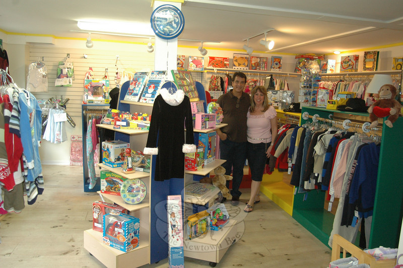Owners Felix and Marci Benitez saw the need for a children's consignment shop in Sandy Hook, and moved to expand their Fun Kuts hair salon into a dual purpose operation that now includes Fun Kids Consignments. While the retail shop features predominantly gently used items, a limited stock of brand new educational toys, games, and puzzles is offered as well.  (Voket photo)