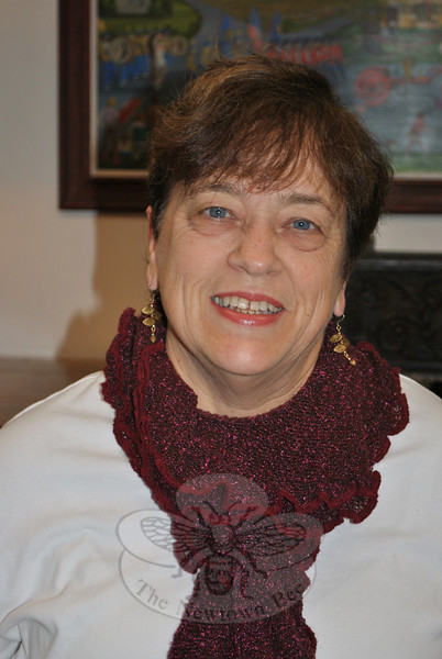 A volunteer with Regional Hospice and Home Care of Western Connecticut, Barbara Myers appreciates that Hospice utilizes the many gifts of volunteers to benefit patients, as well as volunteers.  (Crevier photo)