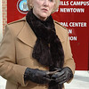 First Selectman Pat Llodra; December 30, 2011, outside Newtown Municipal Center.  —Bee Photo, Gorosko