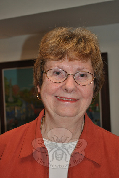 Cathy Hickey Williams, a retired professor of chemistry who has lived with her husband in Newtown for just shy of 30 years, is featured in this week's Snapshot column.  —Bee Photo, Crevier