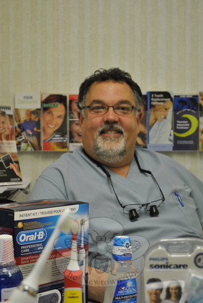 Dental care needs change as we grow older, says Dr David Kessler of Dental Associates of Newtown, but better education and better health, as well as advances in dentistry, means that people can chew in comfort well into advanced age.	 —Bee Photo, Crevier