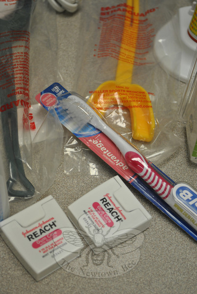 Dental floss, floss holders, power and manual toothbrushes, oral rinses, prescription toothpastes, and sports mouth guards are all tools that can be used daily, between regular visits to the dentist, for superior home dental care. 	 —Bee Photo, Crevier