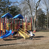 "Playgrounds — what Kids Around the World volunteers call ""wonderful centers of laughter, social gatherings, and places that allow a kid to … just be a kid"" — are easy to find across America, but not so in other parts of the world. When St Rose of Lima School decided to retire one of its old playscapes a few years ago, it still had a spare one for its youngest students to play on until a second one was installed at the Church Hill Road school. A committee of parents and faculty members recently donated the old playscape to Kids Around the World, which will refurbish and reinstall the playscape in Haiti. —Bee Photo, Hicks"