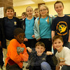 Students from the Danbury AIS Magnet School Odyssey of the Mind team posed during the Spontaneous Scrimmage held at Reed Intermediate School Friday, January 27.		    —Bee Photo, Hallabeck